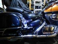 глушители на две стораны, Suzuki vl1500lc
